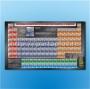 """Стенд """"Современная периодическая система химических элементов Д.И.Менделеева"""" (Размер: 1750х1200 мм. Панель, профиль. Крепежные элементы. Полноцветная печать. Возможен размер по заказу."""